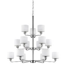 Canfield 3-Tier Chandelier