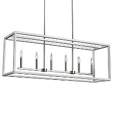 Moffet Street Linear Chandelier Light