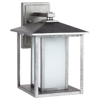 Shown in Weathered Pewter finish, Large size