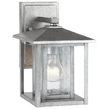 Shown in Weathered Pewter finish, Small size