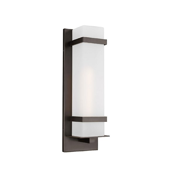 Alban Square Outdoor Wall Sconce