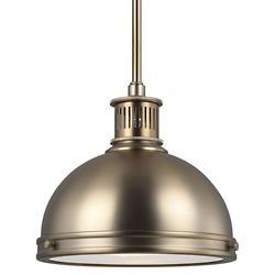Pratt Street Metal Pendant(Bronze/Large/LED)-OPEN BOX RETURN