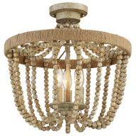 Wood Ceiling Lights