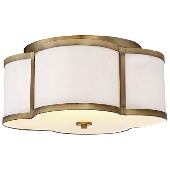 Shown in Natural Brass finish