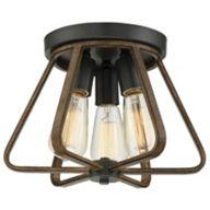 Rustic Flush Mount Lighting