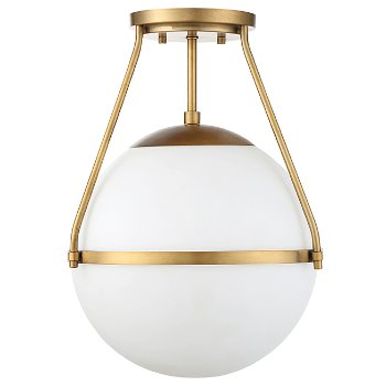 Shown in Natural Brass finish, unlit