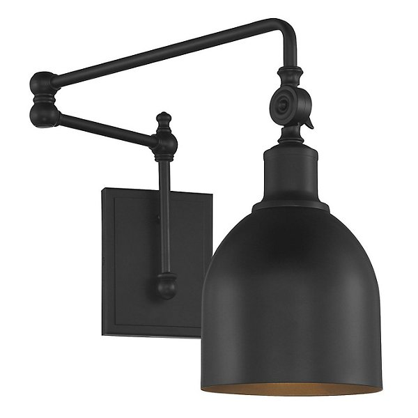 Francis Swing Arm Wall Sconce By Alder And Ore At Lumens Com
