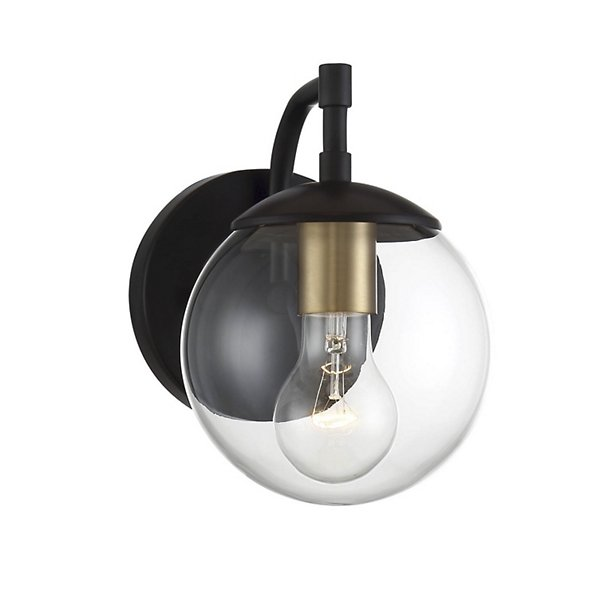 Christian Globe Outdoor Wall Sconce