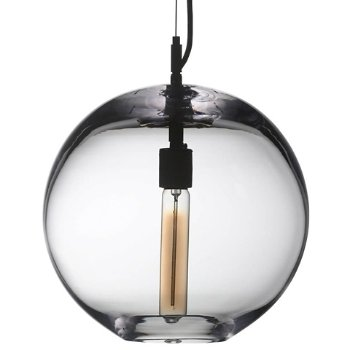 Hampton Pendant Light, illuminated
