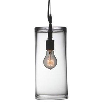 Emerson Wide Pendant Light, illuminated