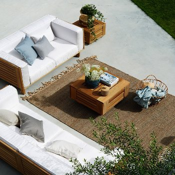 Pictured with the Skanor 2 Seater Sofa and the Skanor 3 Seater Sofa (sold separately)