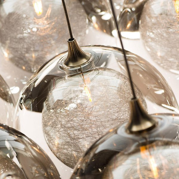 Kadur Drizzle 11 Round LED Multi-Light Pendant