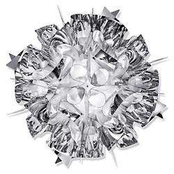 Veli Metal Wall/Ceiling Light (Silver/Medium) - OPEN BOX
