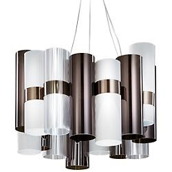 La Lollo LED Pendant (Pewter/White) - OPEN BOX RETURN