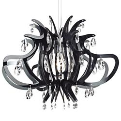 Lillibet Mini Chandelier (Black) - OPEN BOX RETURN