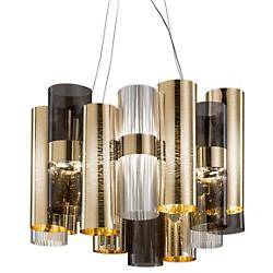 La Lollo LED Pendant (Gold/Fume) - OPEN BOX RETURN