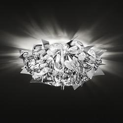 Veli Metal Wall/Ceiling Light (Silver/Small) - OPEN BOX