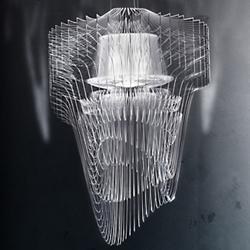 Aria Transparent LED Pendant (Small) - OPEN BOX RETURN
