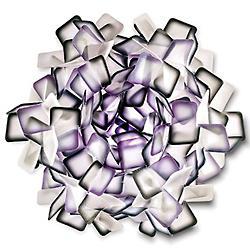 Clizia Ceiling/Wall Light (Purple/Small) - OPEN BOX RETURN