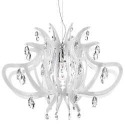 Lillibet Mini Chandelier (White) - OPEN BOX RETURN