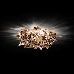 Veli Metal Wall/Ceiling Light (Copper/Small) - OPEN BOX