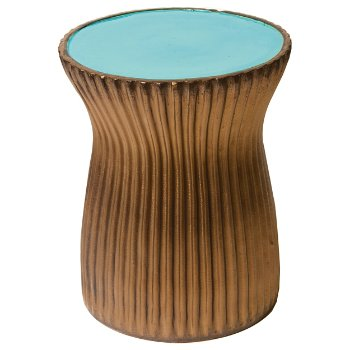 Shown in Turquoise Blue/Metallic