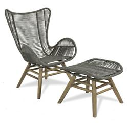 Oceans Neptune Chair and Ottoman