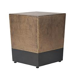 Ingot Cube Accent Table