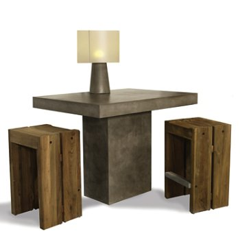 Pictured with the Solo Bar Stool (sold separately)