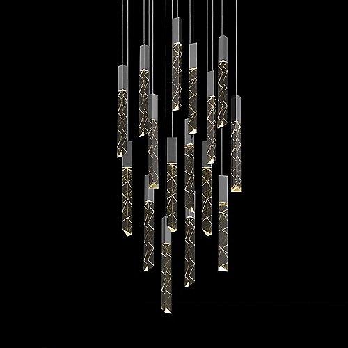 Trinity 16 Light LED Square Pendant By SONNEMAN Lighting At Lumens