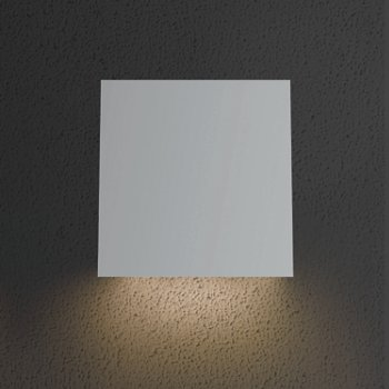 Shown as lit in Textured White finish