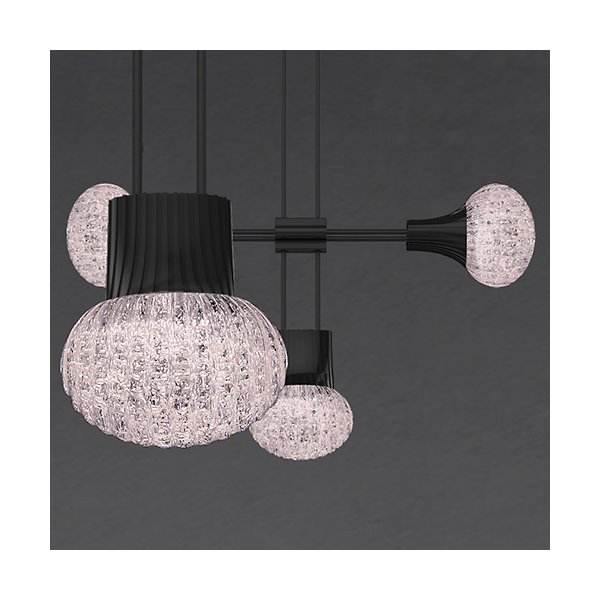 Suspenders 24-Inch LED Single Ring Chandelier
