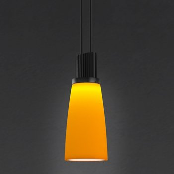 Shown in Amber Tapered Bell