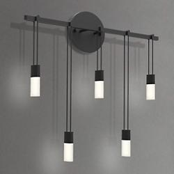 "Suspenders 18"" Staggered Bar LED Wall Sconce"