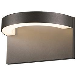 Cusp LED Outdoor Wall Sconce (Textured Bronze) - OPEN BOX