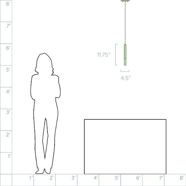 Wands Mini LED Pendant