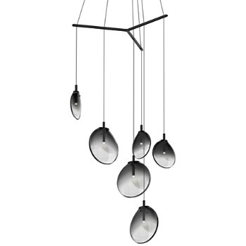 Cantina LED Tri-Spreader Multi-Light Pendant