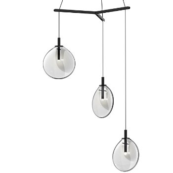 Cantina LED 3-Light Tri-Spreader Multi-Light Pendant