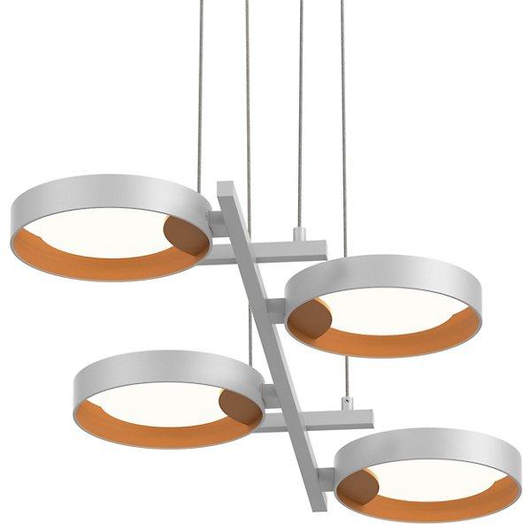 Light Guide Ring 4-Light Bar Linear Suspension