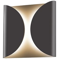 Folds Indoor/Outdoor LED Wall Sconce (Bronze) - OPEN BOX