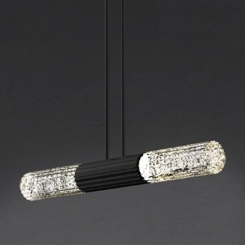Shown in Crystal Double Rod