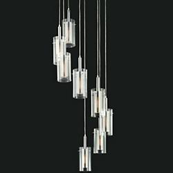Zylinder Multi Light Pendant (8 Light) - OPEN BOX