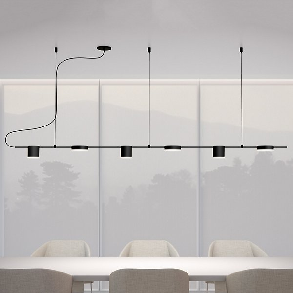 Counterpoint LED Linear Pendant
