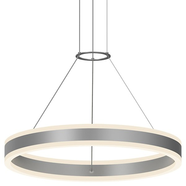 Double Corona LED Ring Pendant