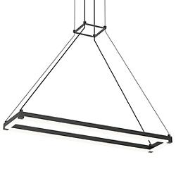 Stix Rectangle LED Linear Suspension (Black/30) - OPEN BOX
