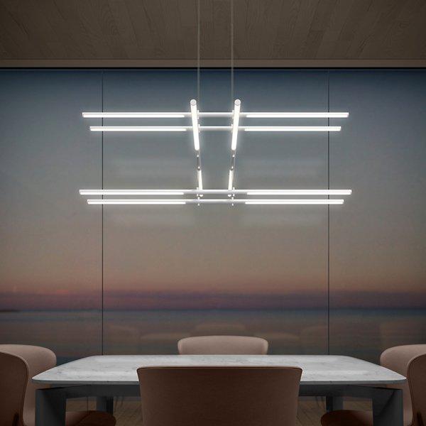 Tik-Tak Stack LED Pendant
