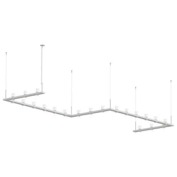 Intervals Zig-Zag LED Pendant