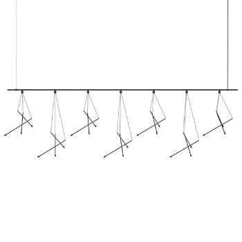 Suspenders 8' 1-Tier Linear Suspension