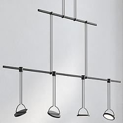 Suspenders 48-Inch Linear 2-Tier Light Guide Panel Luminaires