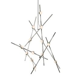 Constellation Aquila Minor Chandelier(Whte Optical)-OPEN BOX
